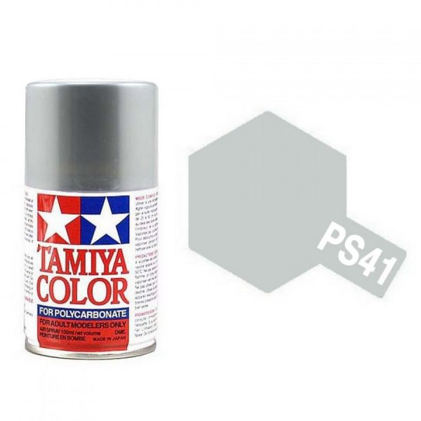 argent-lumineux-polycarbonate-spray-de-100ml-tamiya-ps41
