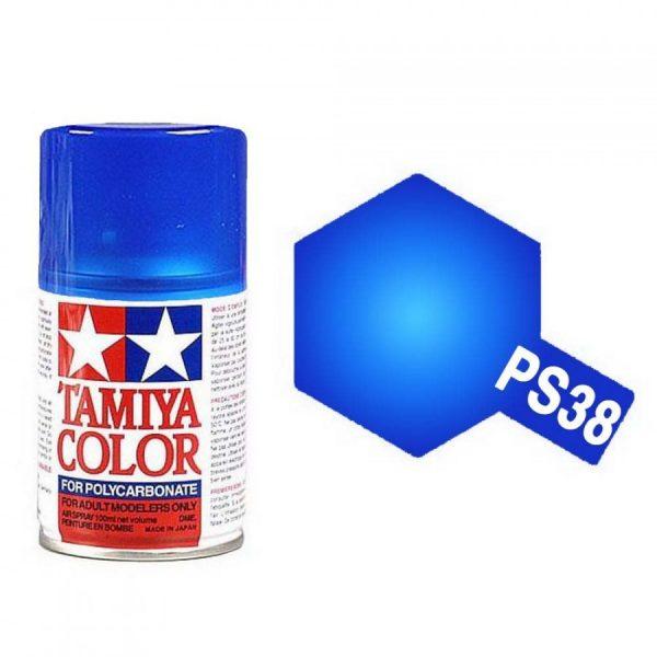 bleu-translucide-polycarbonate-spray-de-100ml-tamiya-ps38
