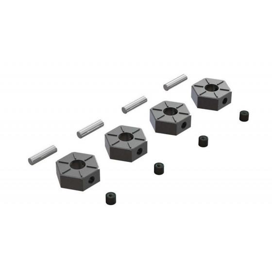 arrma-hexagones-de-roues-12mm-alu-x4-ar310816