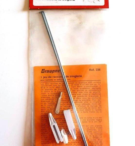 graupner-set-asta-di-comando-con-bacchette-m2-forcella-e-sgancio-rapido-art-226